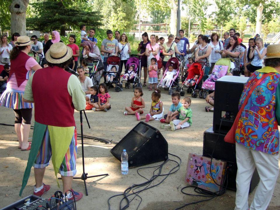 Fiesta de las guarderías municipales de Lleida en Els Camps Elisis.