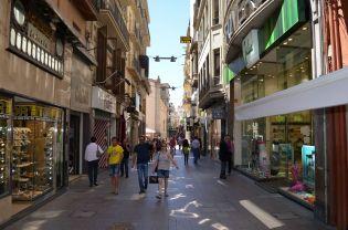 Eix Comercial de Lleida en el que se encuentran las principales tiendas y franquicias establecidas en la ciudad Cecília López