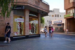 En la Zona Alta de Lleida conviven las boutiques de alto estanding de la ciudad Cecília López
