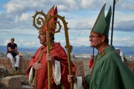 Clérigos. Boda Real en el Castell del Rei. Cecília López.