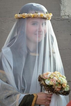 Petronila, princesa de Aragón. Boda Real en el Castell del Rei. Cecília López.