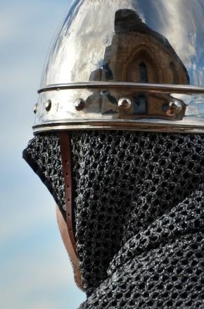Soldado. Boda Real en el Castell del Rei. Cecília López.