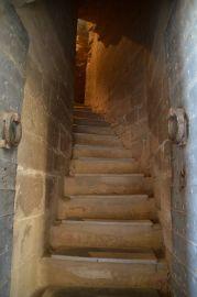 Escaleras de acceso al campanario