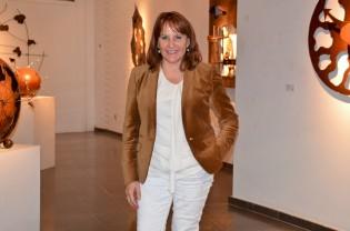 Roser Xandri, directora de la galería de arte Espai Cavallers. Cecília López