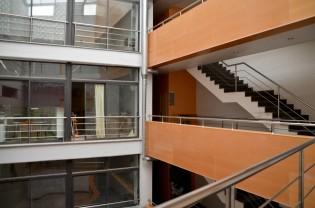 Interior de la casa de los artistas de Lleida. Cecília López