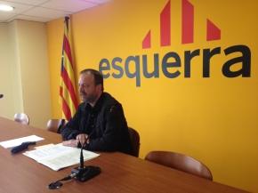 Carles Vega, candidato de ERC en la Paeria en las municipales previstas para el 2015. Foto: ERC