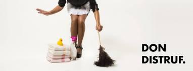 Imagen promocional de la webserie leridana 'Don Distruf' Foto: Glòria Esteve
