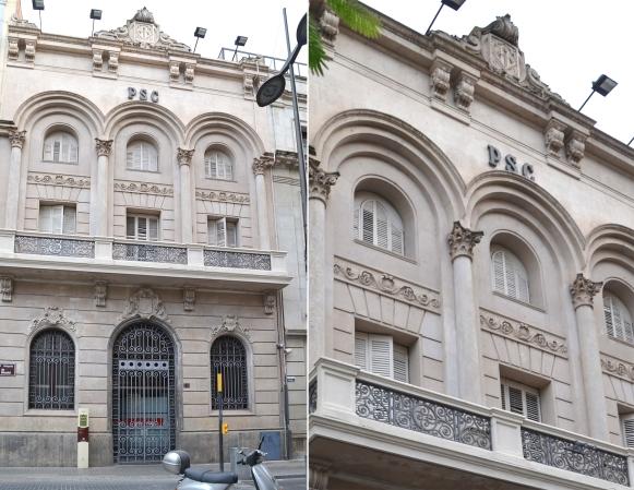 August Font construye en 1936 el edificio de la Cámara de la Propiedad. Cecília López