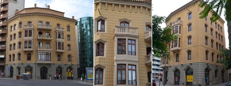 La casa Baró es obra del arquitecto Joan Bergós. Cecília López