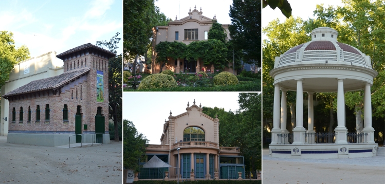 El Aquarium modernista de Morera i Gatell, la Glorieta de los músicos y el chalet de los Camps Elisis. Cecília López
