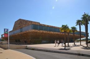 Vista de la Llotja de Lleida. Palau de Congressos. Cecília López
