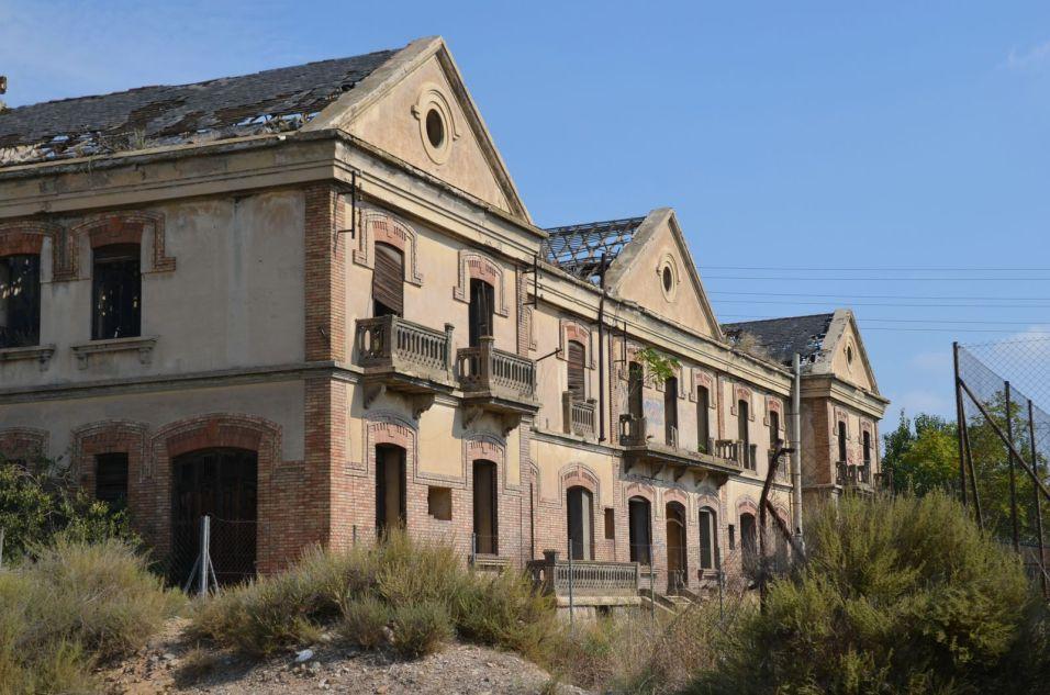 La antigua estación del Pla de Vilanoveta en Lleida. Cecília López